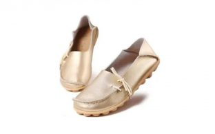 Chaussures femme Loafer Cuir